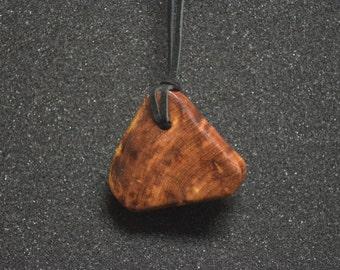Cedar Wood Necklace Pendant