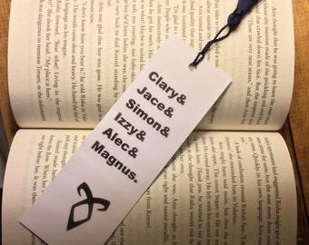 The Mortal Instruments Bookmark