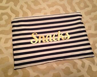 Personalized Medium Snack Bag