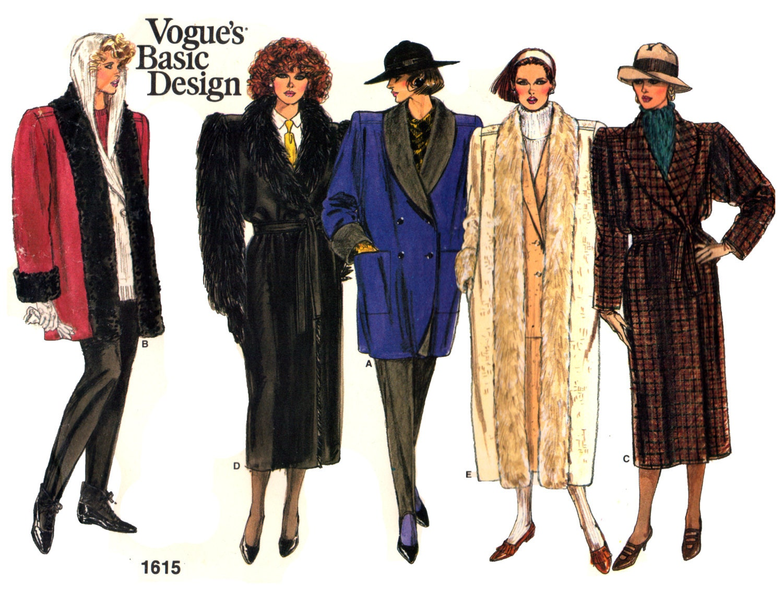 Basic Design Line : S vogue basic design loose fitting lined a line