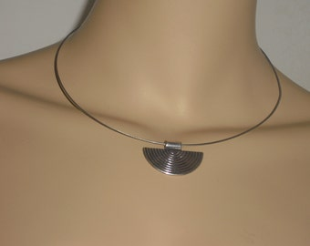 Choker - necklace - jewelry - necklace - necklace with trailer Tibet silver style