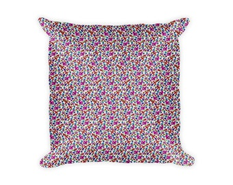 """Pillow case/cover, 18"""" x 18"""", featuring an image (pillow-100002-2)"""