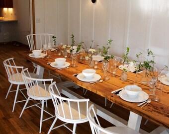 RILEY Pine Farmhouse Table