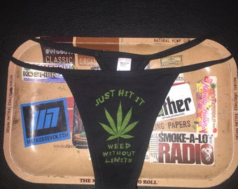WeedWithoutLimits G-String Thong