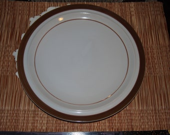 Brown Monterrey Stoneware Dinner Plate