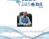 Love Reading for Spiritual Healing by Email with 3 Questions by Psychic Brian Sharp