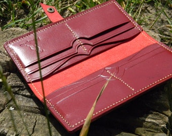 Leather Wallet, Leather Card Wallet, Minimalist Wallet, Bifold Wallet, Leather Card Holder, Slim Leather Wallet, Handmade Wallet, Card Case