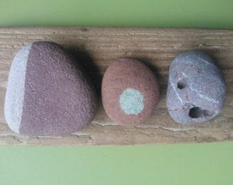 Scottish stones , stone collection , Scottish rocks , stones from Scotland , patterned stones , holey stones , hag stone