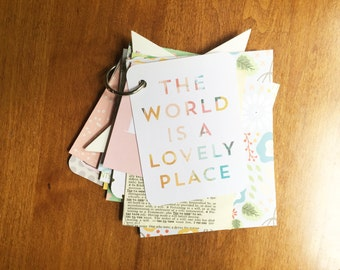 The World Mini Book: Journal