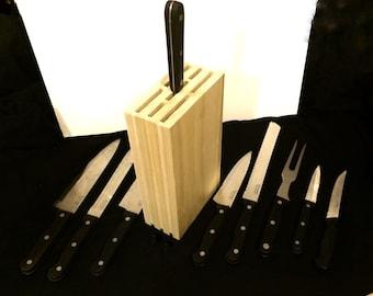 Custom Made Knife Block