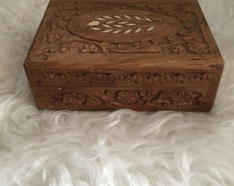 Wooden Decorated Box