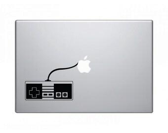Macbook Laptop Sticker - Retro Gaming Controller 1