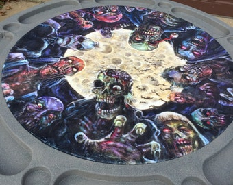 Custom Zombie Poker Table!!!