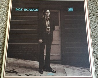 Boz Scaggs Record; 1969 Original Vinyl; Vinyl Record; Blues Music