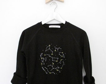 constellations Sweatshirt black