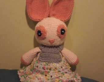 Amigurumi Bunny Rabbit, Easter Bunny Rabbit, Crochet Bunny Rabbit, Kids Toy
