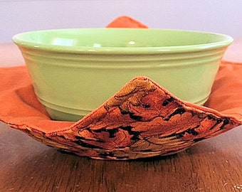 Autumn Bowl Potholder - Set of 4