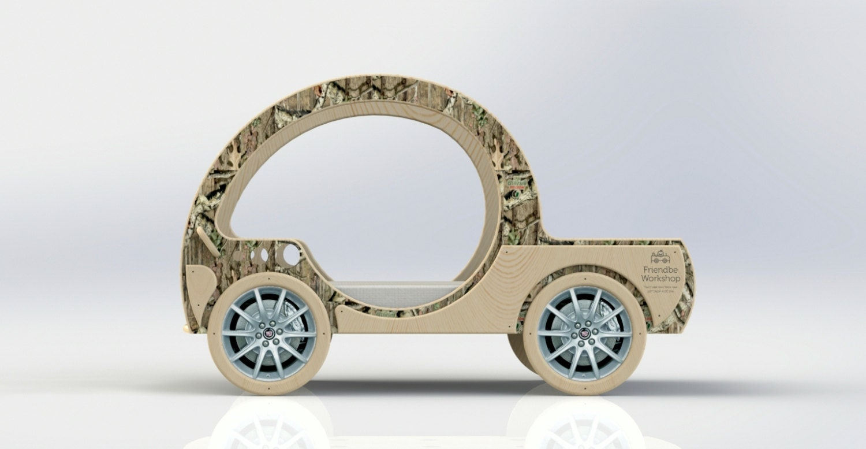 DIY Plans Toddler Jeep Pickup Car Bed Plans Toddler