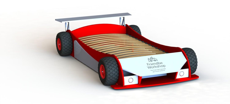 Diy Plans Twin Race Car Bed Plans Twin Size