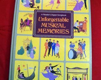 Vintage Songbook Musical Memories
