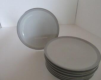 NORITAKE Debell 6443 pattern Bread n Butter Plates