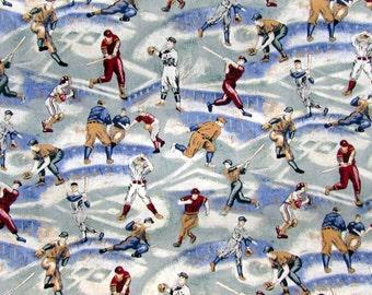 Baseball Game Fabric