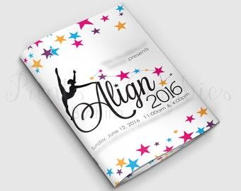 DIGITAL FILE - Custom Booklet Design, Playbill Sized Ad Journal, Event Program, Souvenir Journal, Multi-Page Brochure