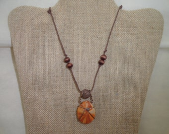 Southwest cord necklace