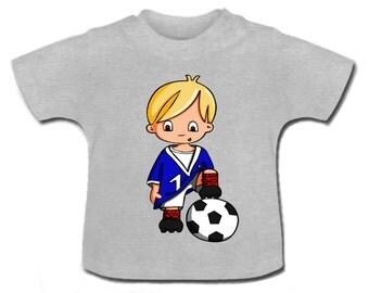 t-shirt baby foot