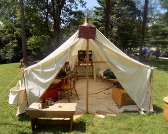 10' x 12' glamping wall tent