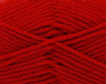 King Cole Merino Blend Aran -Scarlet (9)