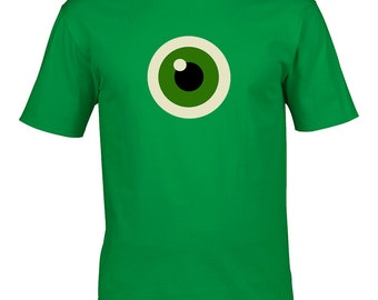 TEDDY BEAR EYE- Graphic Style Men's T-Shirt From FatCuckoo - MTS1579