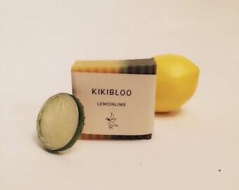 Lemon Lime Soap Vegan Cold Process Soap By kikibloo