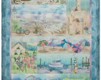 Beach Walk Complete Quilt Kit by McKenna Ryan