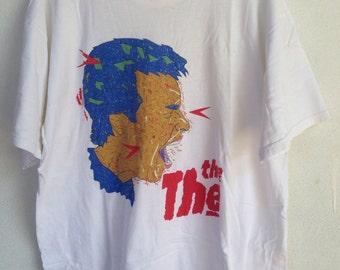 Rare vintage THE THE band 1993 tshirt XL