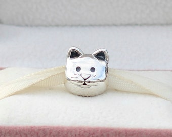 Curious Cat Authentic PANDORA Charm - 791706