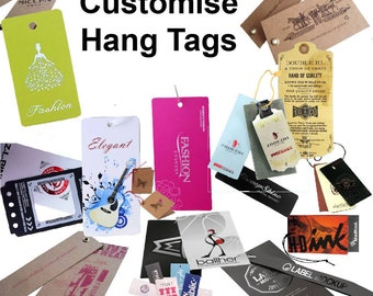 500 piece Custom Hang Tags