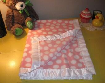 Soft Fleece Baby Girl Blanket