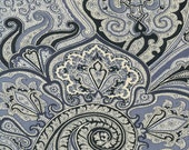Navy Paisley 100% Cotton...