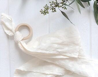 SALE Elle Teething Blanket