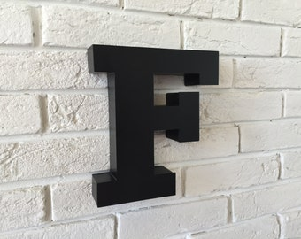 Metal Letters Wall Decor powder coated metal letters painted wall letter letter