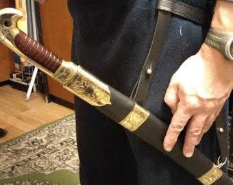 Shashka sword belt