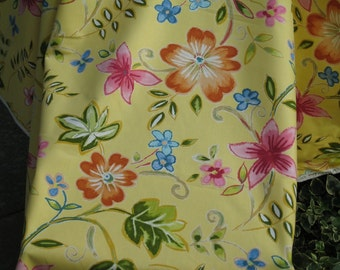 Floral Fabric -- 8 yards