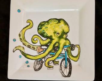 Octopus Bike Plate