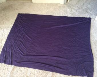 Purple fabric skirt fabric