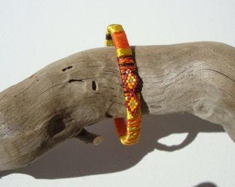Bangle, ethnic bracelet, Maasai, Bohemia