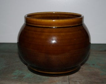 Handmade Brown Glazed Pottery