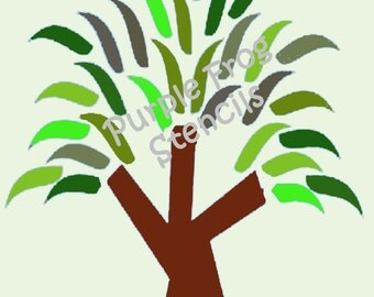Modern Tree DIGITAL Art, Tree Picture