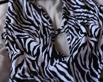 Wild Zebra Body Suit