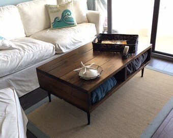 Matching Set of Modern Rustic Coffee & End Table